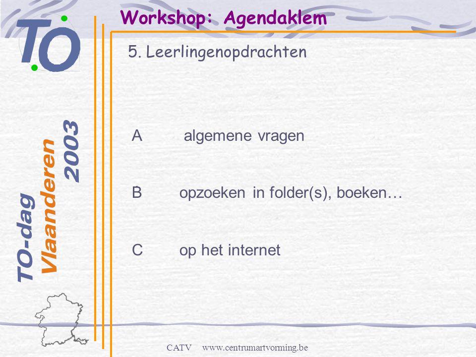 CATV www.centrumartvorming.be