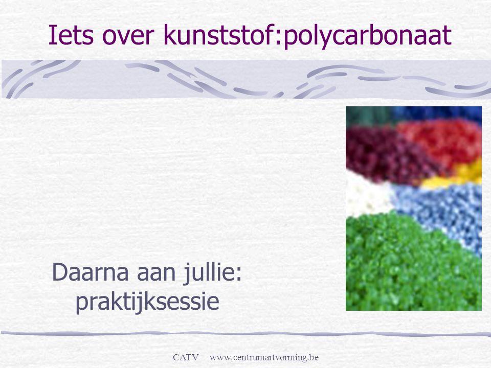 Iets over kunststof:polycarbonaat