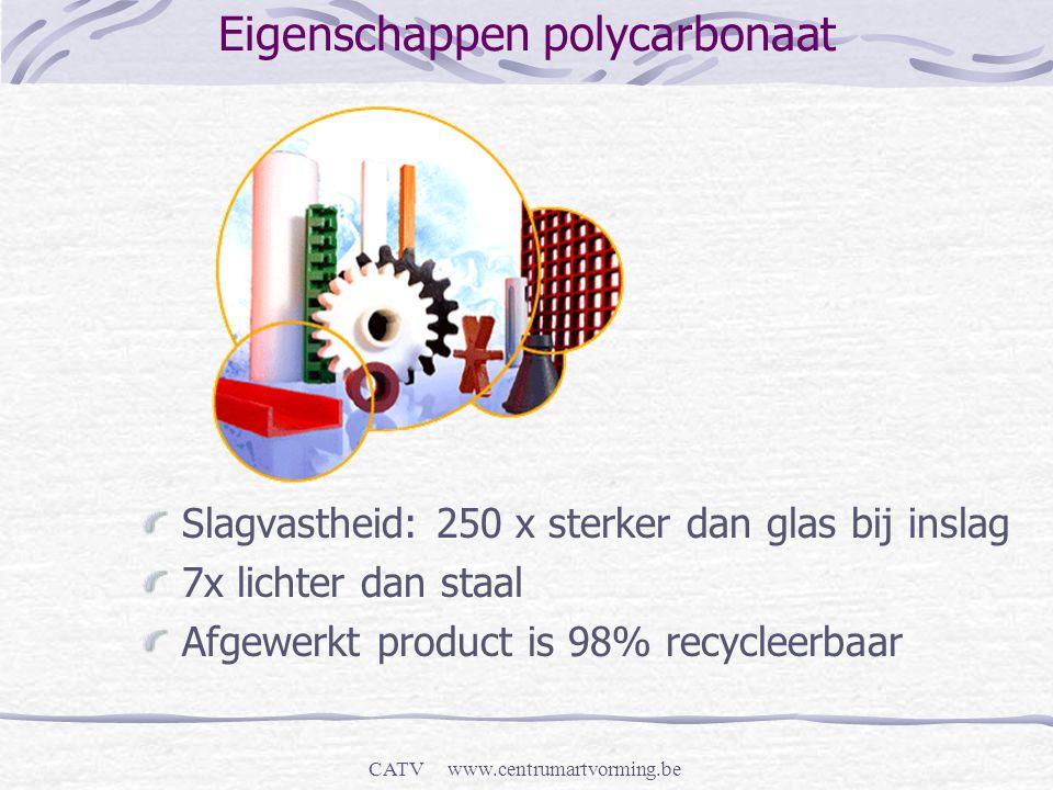 Eigenschappen polycarbonaat