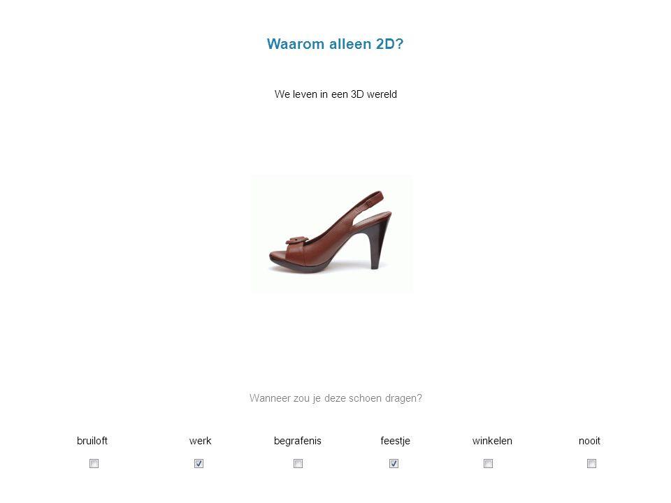 Wanneer zou je deze schoen dragen
