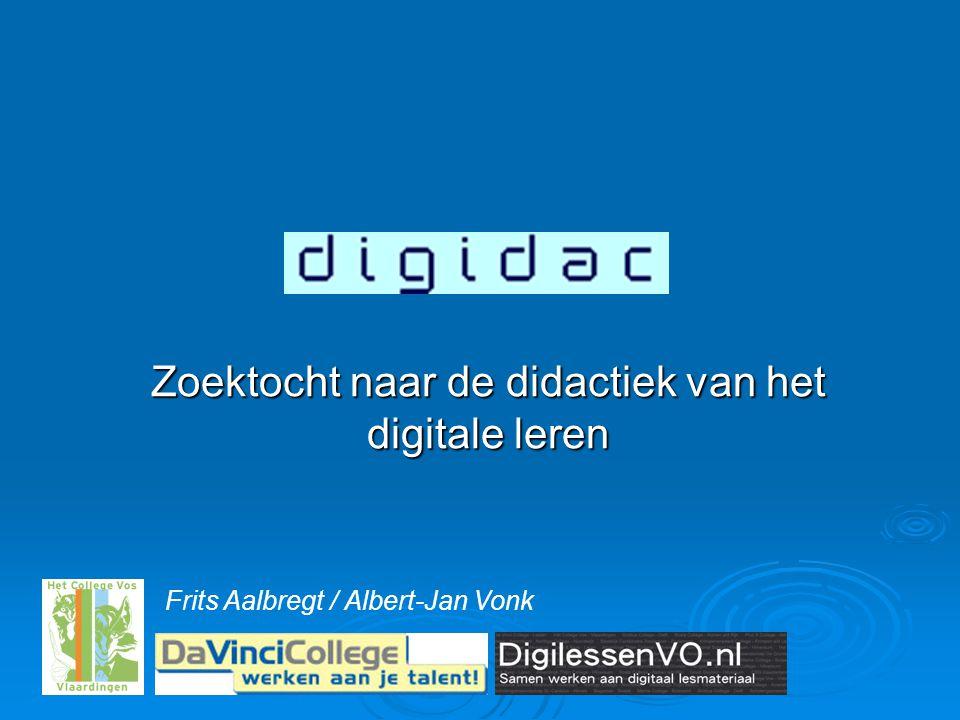 Zoektocht naar de didactiek van het digitale leren