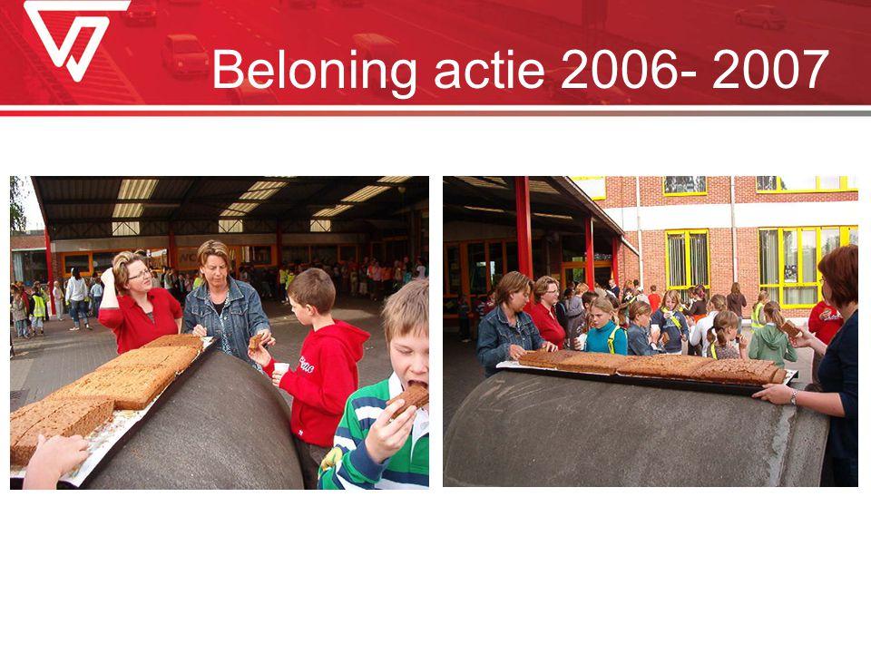 Beloning actie 2006- 2007