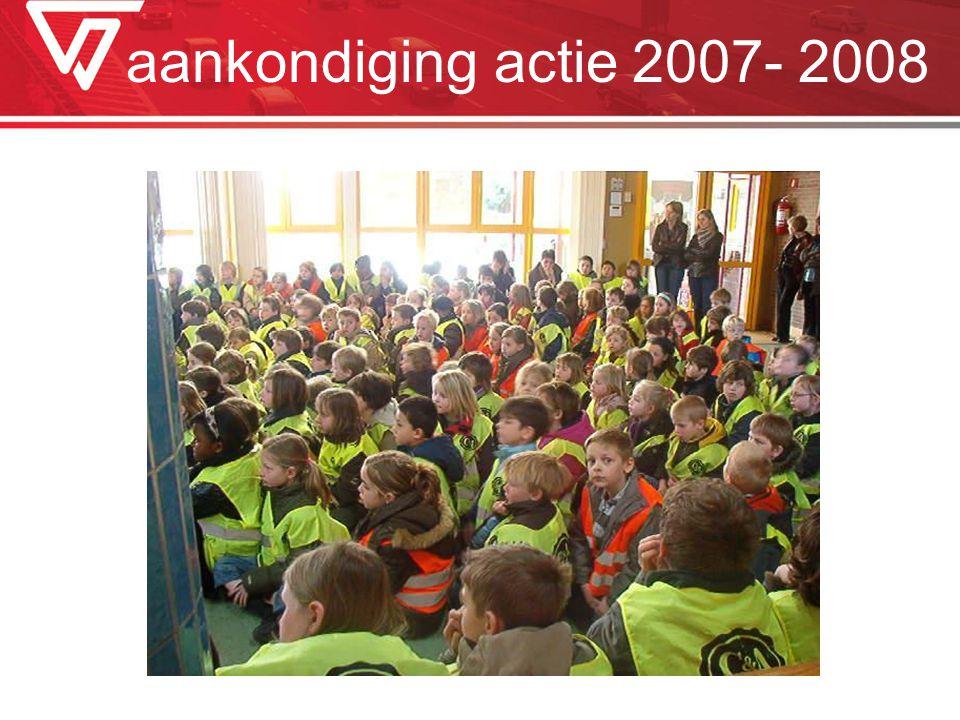 aankondiging actie 2007- 2008
