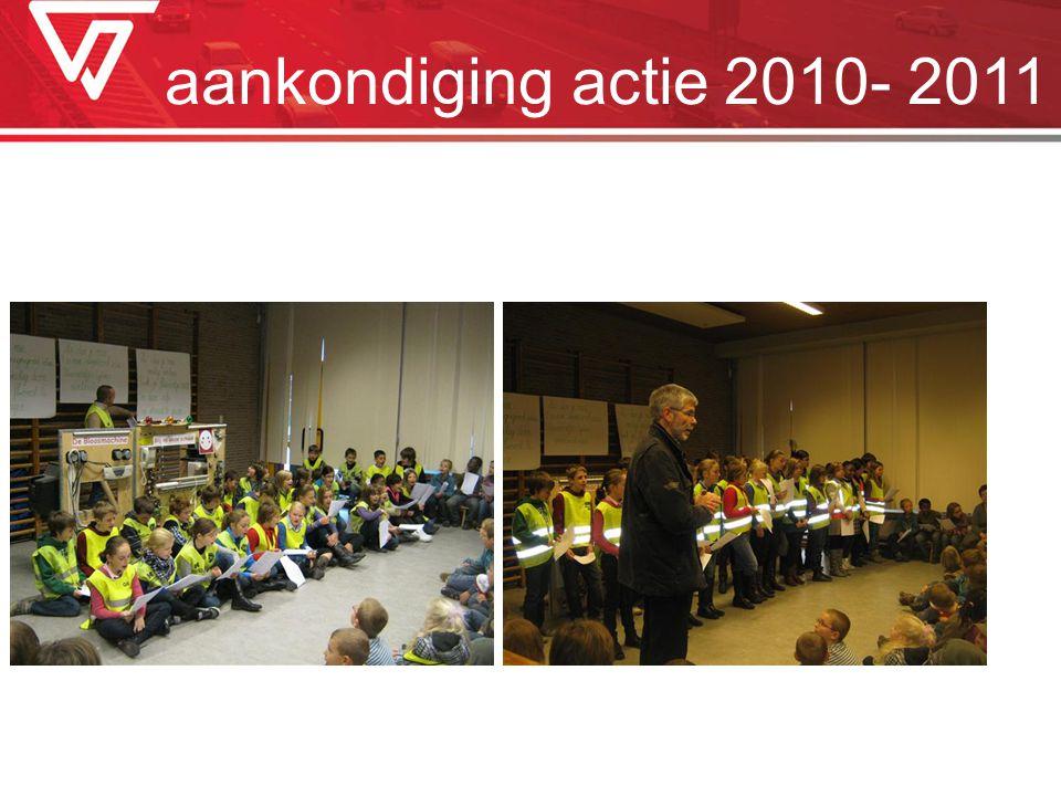 aankondiging actie 2010- 2011
