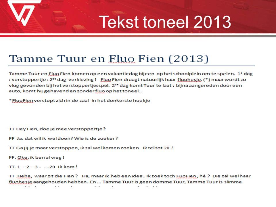 Tekst toneel 2013