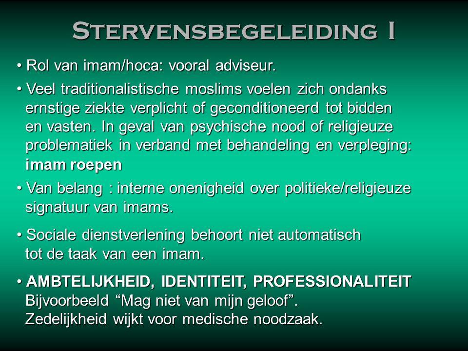 Stervensbegeleiding I
