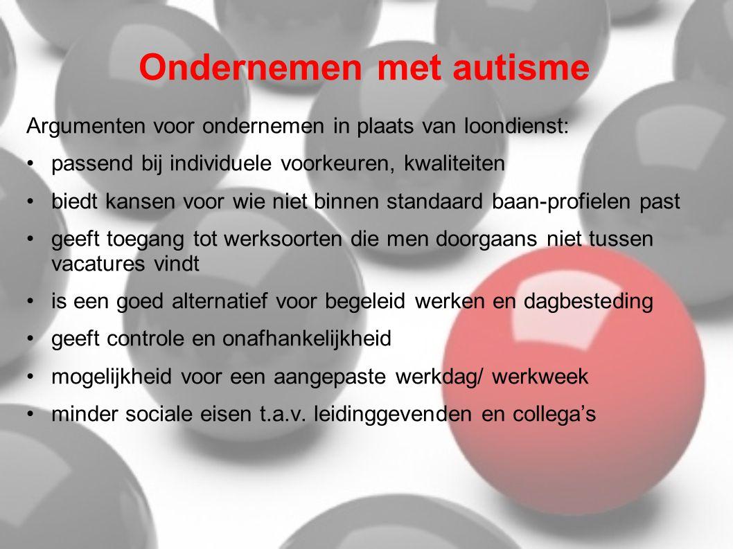 Ondernemen met autisme