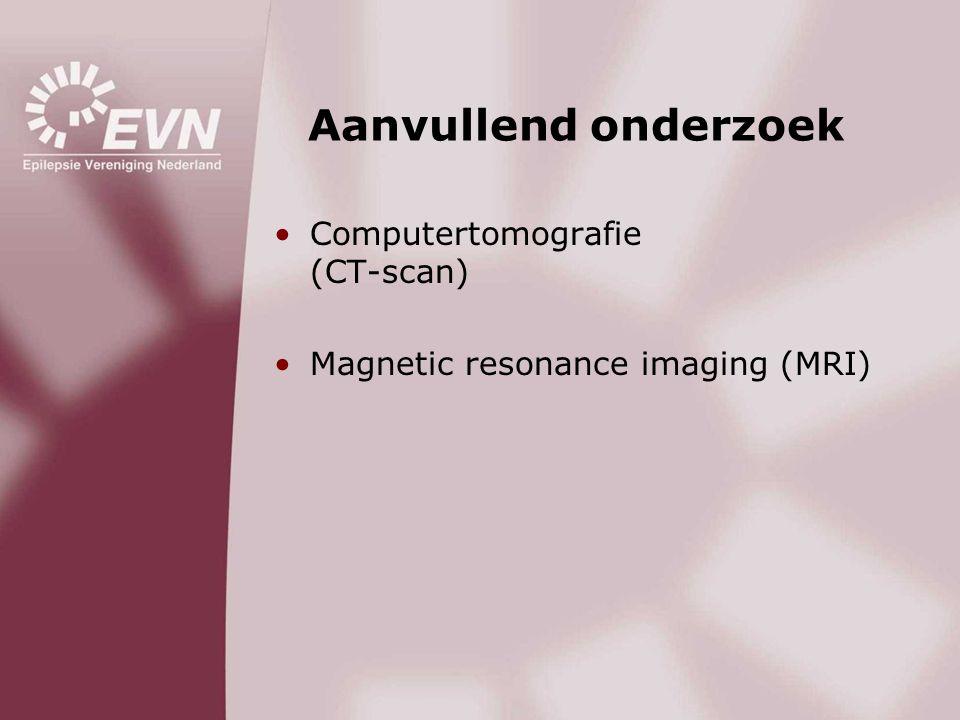 Aanvullend onderzoek Computertomografie (CT-scan)