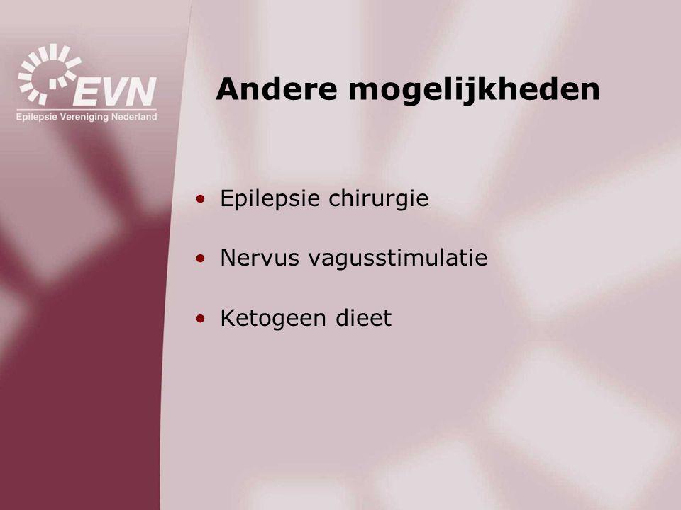 Andere mogelijkheden Epilepsie chirurgie Nervus vagusstimulatie