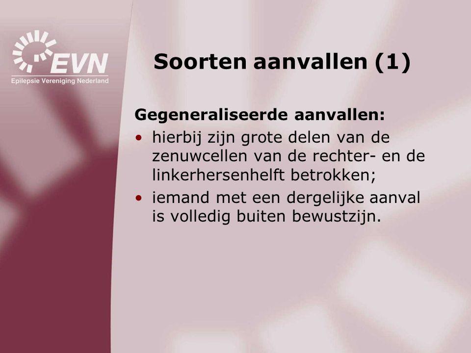 Soorten aanvallen (1) Gegeneraliseerde aanvallen: