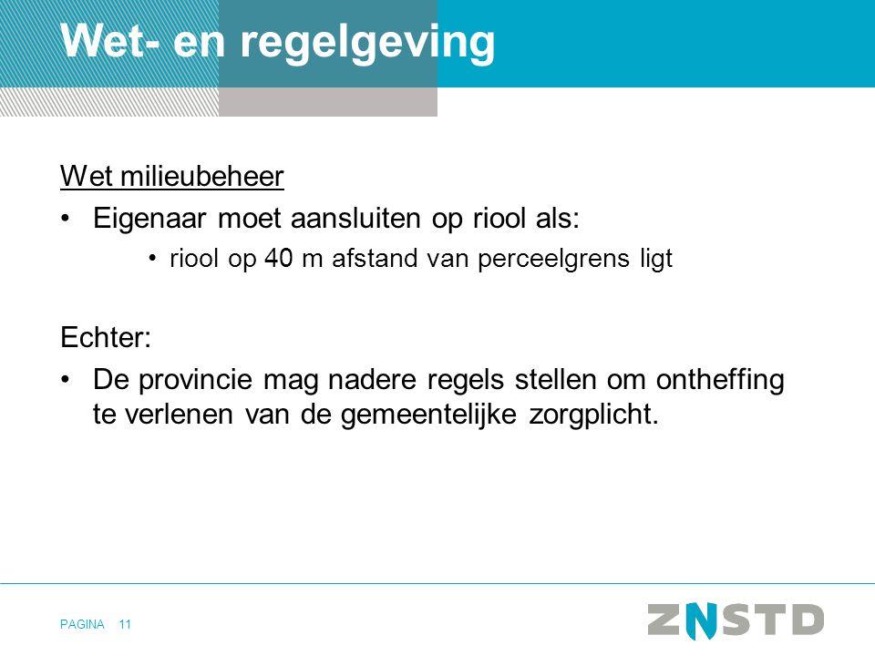 Wet- en regelgeving Wet milieubeheer