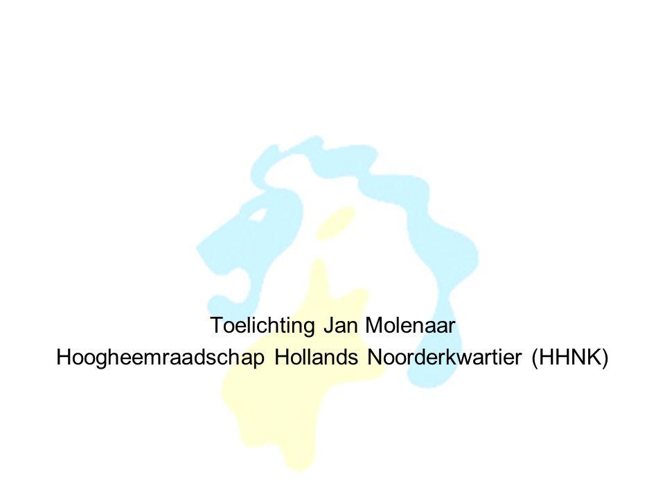 Toelichting Jan Molenaar