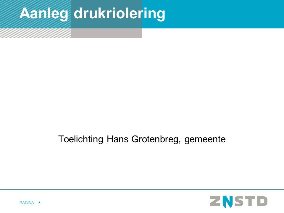 Toelichting Hans Grotenbreg, gemeente