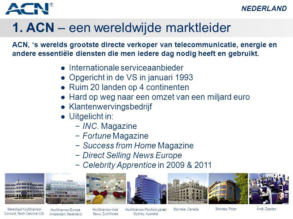 1. ACN – een wereldwijde marktleider