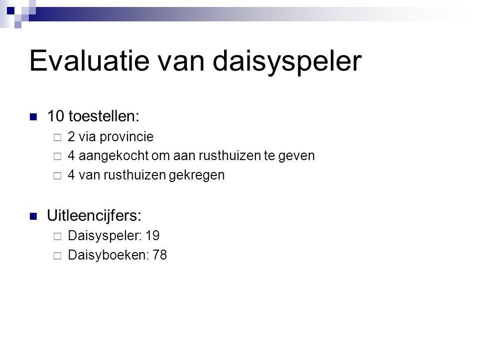 Evaluatie van daisyspeler