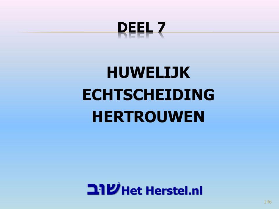 HUWELIJK ECHTSCHEIDING HERTROUWEN