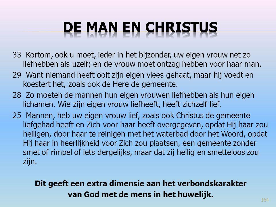De man en christus