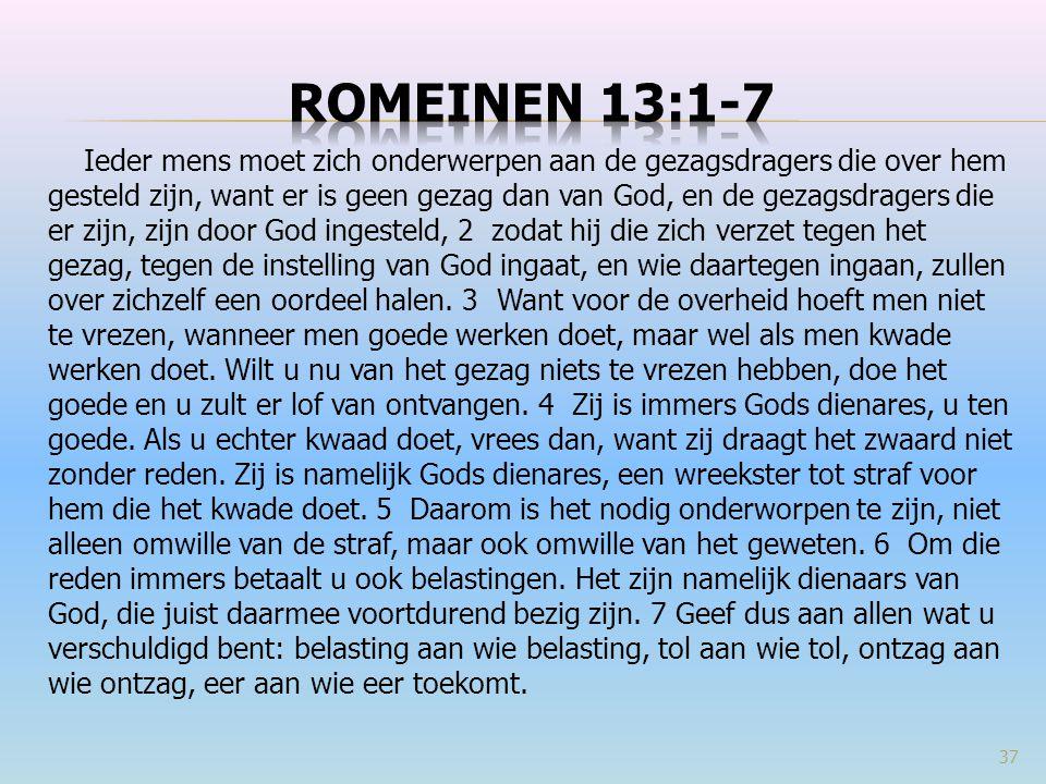 Romeinen 13:1-7