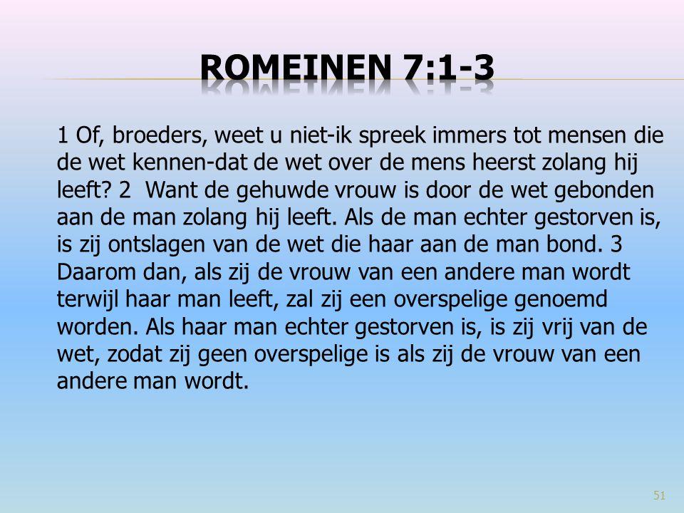 Romeinen 7:1-3