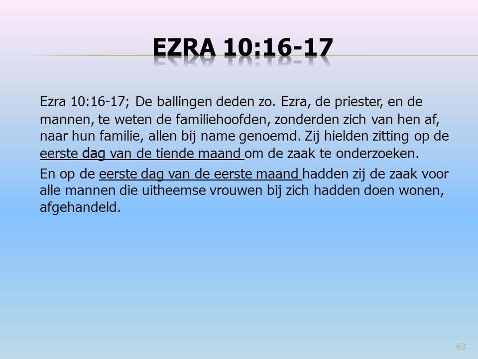 Ezra 10:16-17