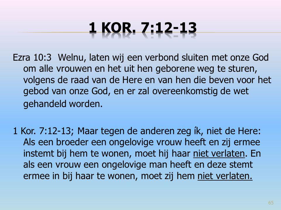 1 Kor. 7:12-13