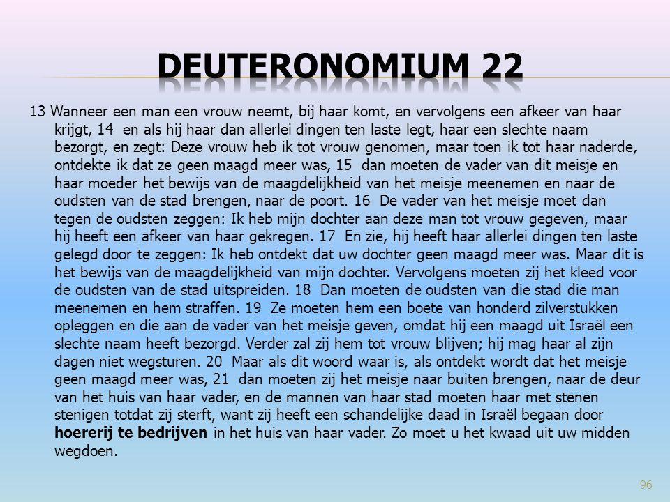 Deuteronomium 22