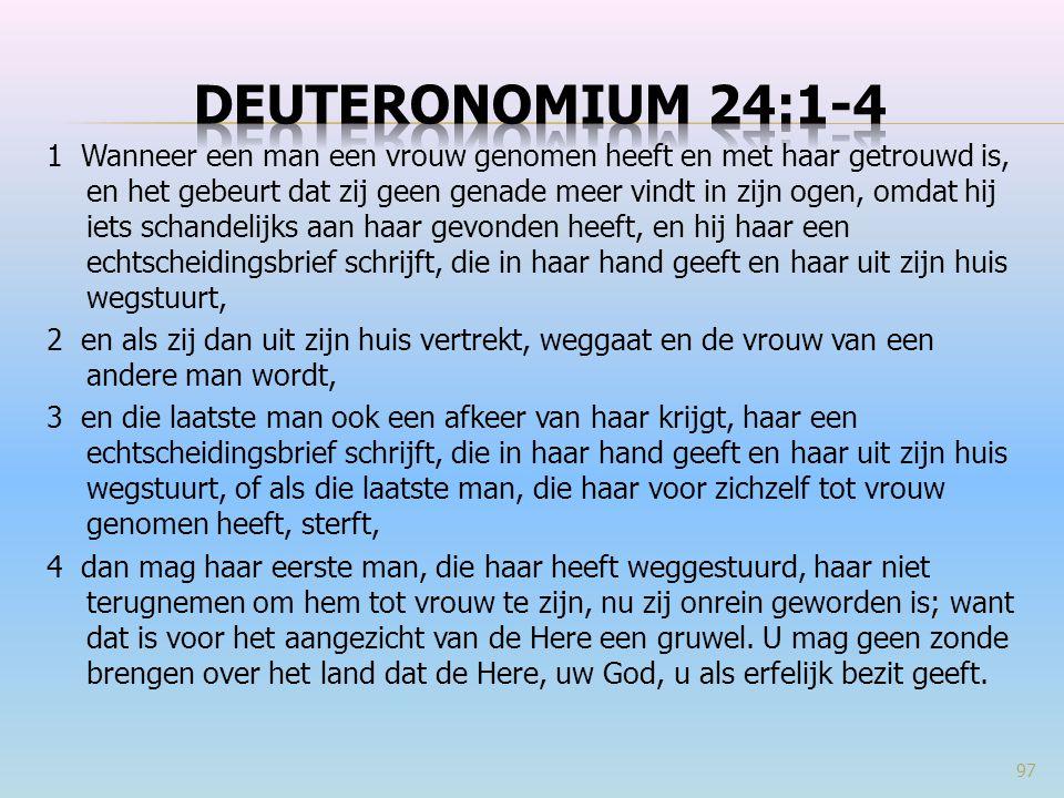 Deuteronomium 24:1-4