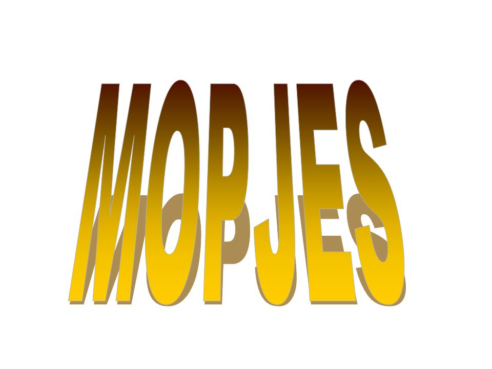 MOPJES