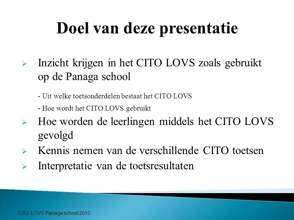 Doel van deze presentatie