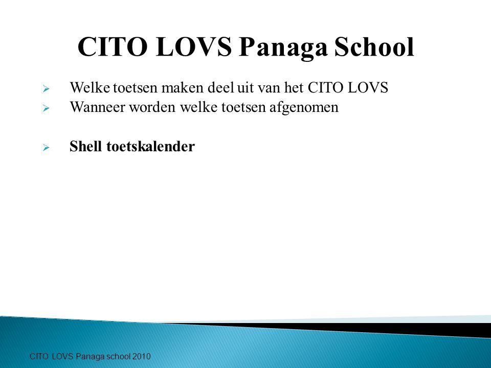 CITO LOVS Panaga School