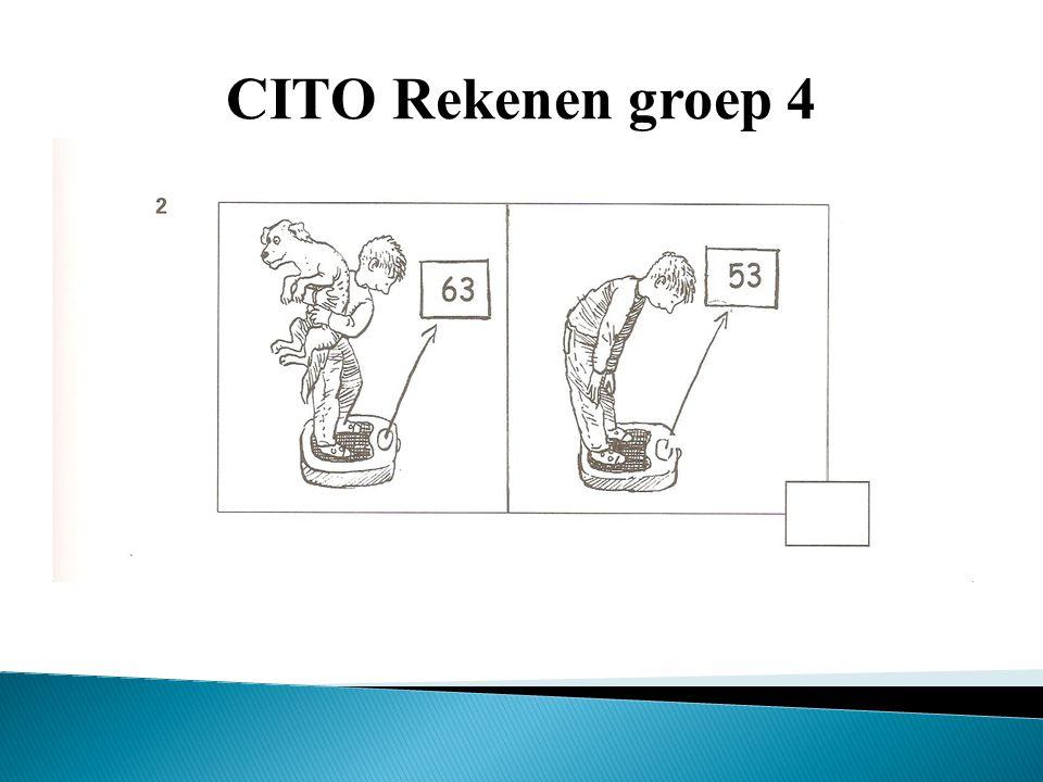 CITO Rekenen groep 4