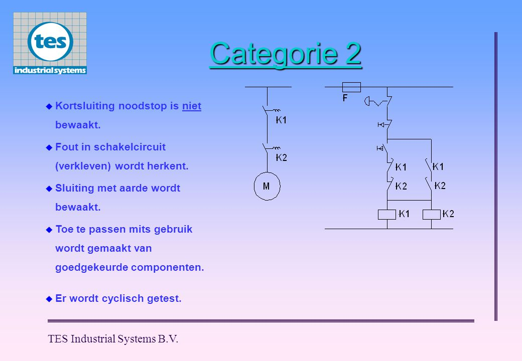 Categorie 2 TES Industrial Systems B.V.