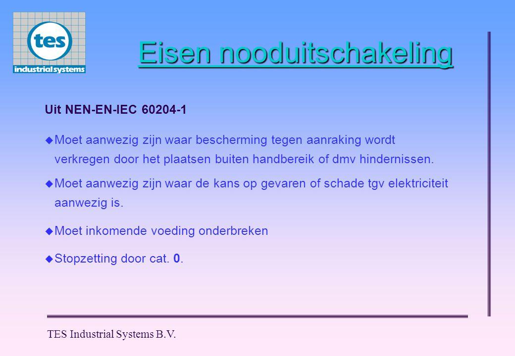 Eisen nooduitschakeling