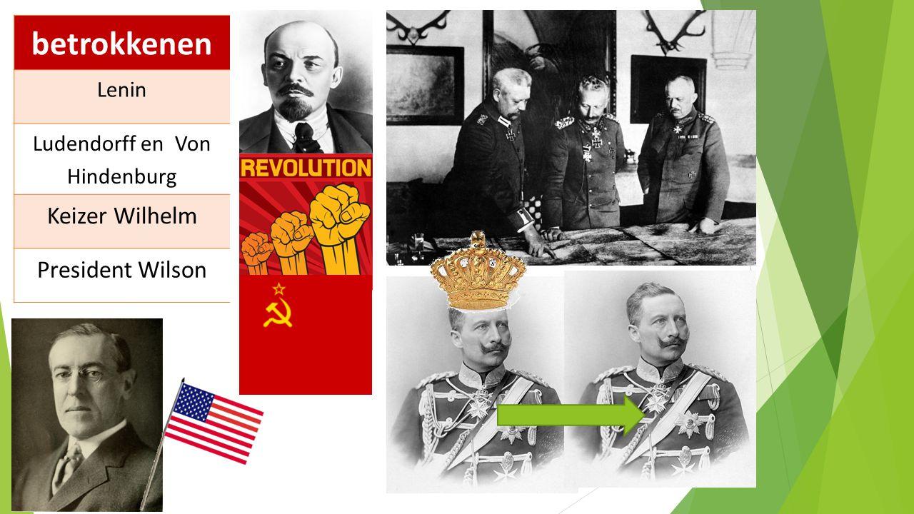 Ludendorff en Von Hindenburg