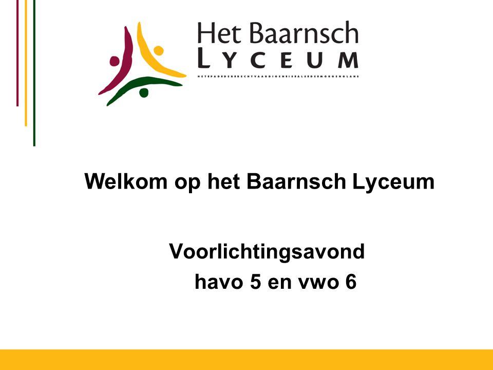Welkom op het Baarnsch Lyceum