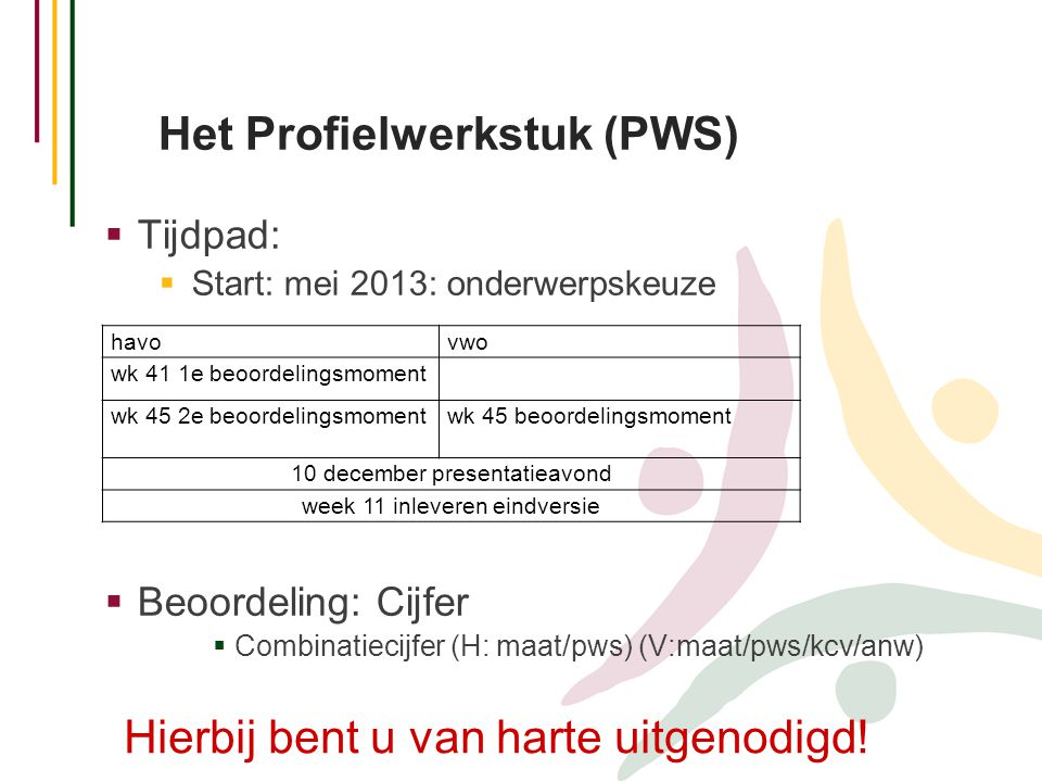 Het Profielwerkstuk (PWS)