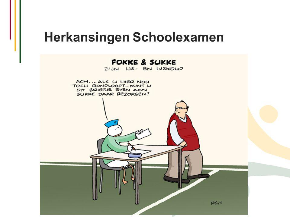 Herkansingen Schoolexamen