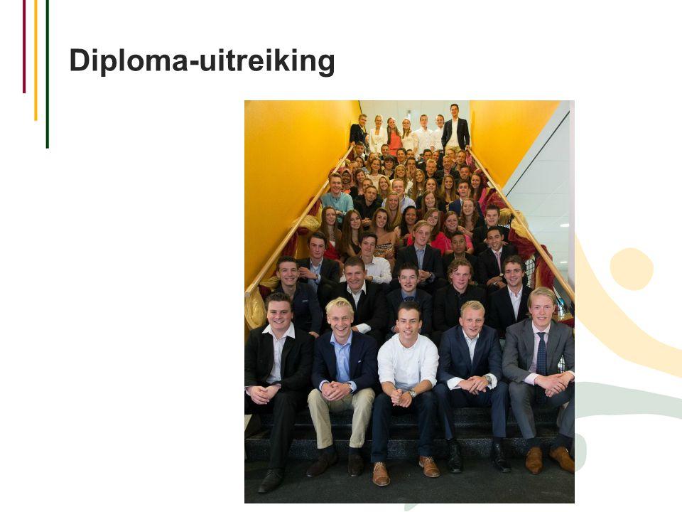 Diploma-uitreiking M