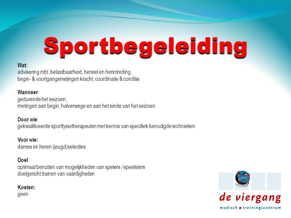 Sportbegeleiding