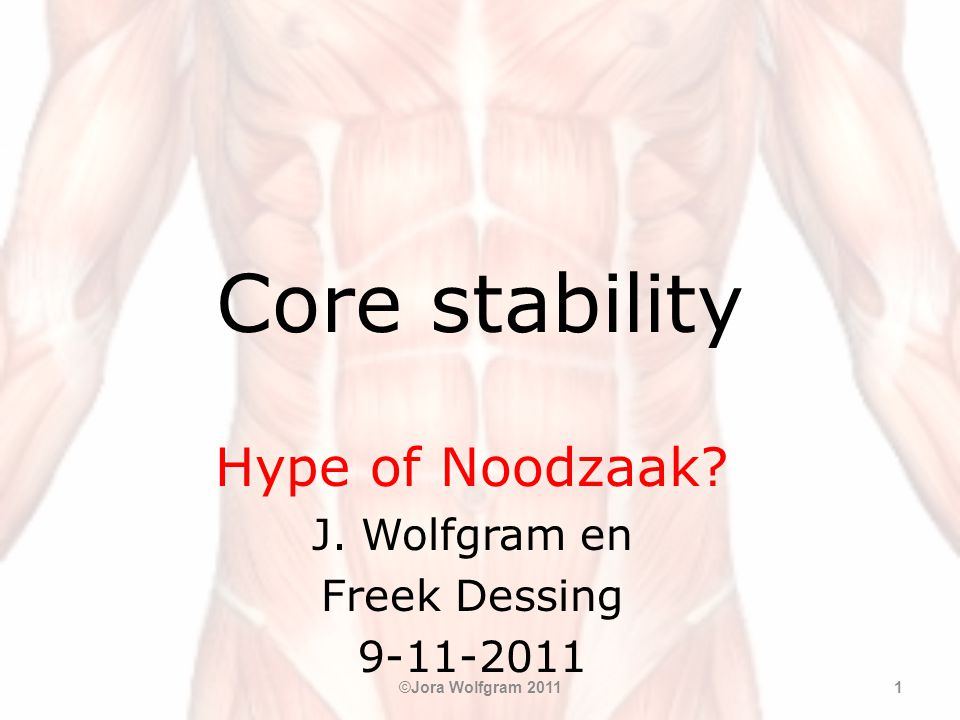 Hype of Noodzaak J. Wolfgram en Freek Dessing