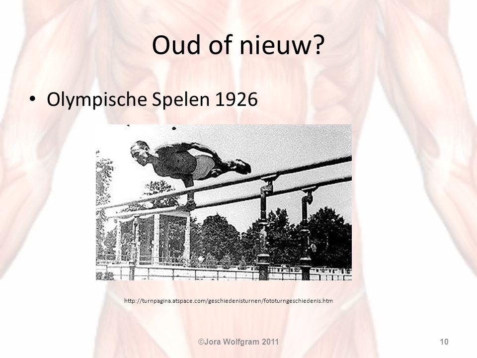 Oud of nieuw Olympische Spelen 1926 ©Jora Wolfgram 2011
