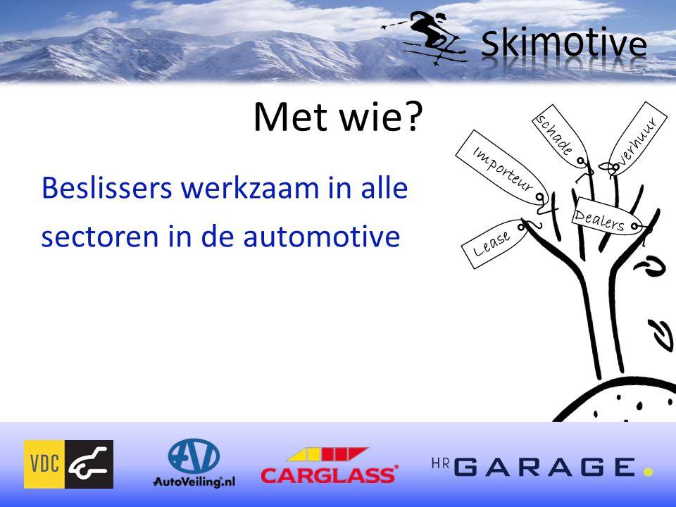 Met wie Beslissers werkzaam in alle sectoren in de automotive schade