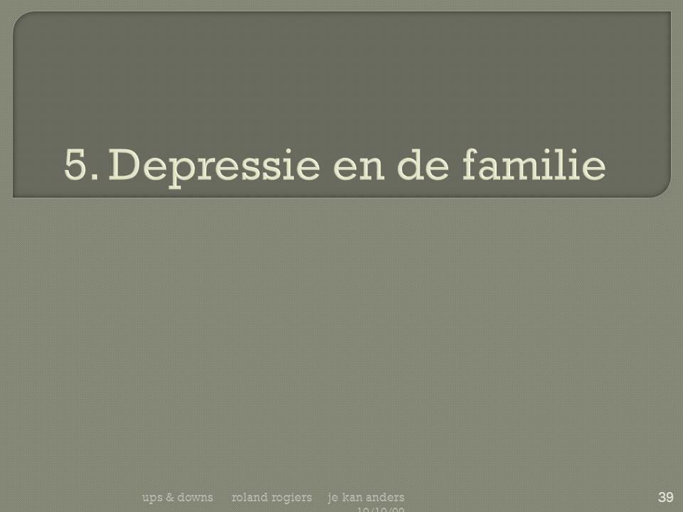 5. Depressie en de familie