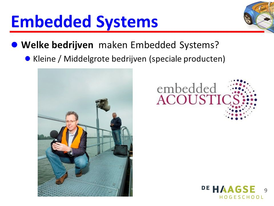 Embedded Systems Welke vakken zijn belangrijk voor Embedded Systems