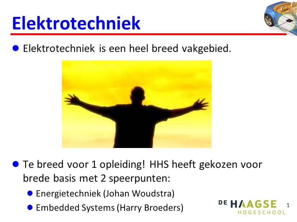 Embedded Systems Wat zijn Embedded Systems