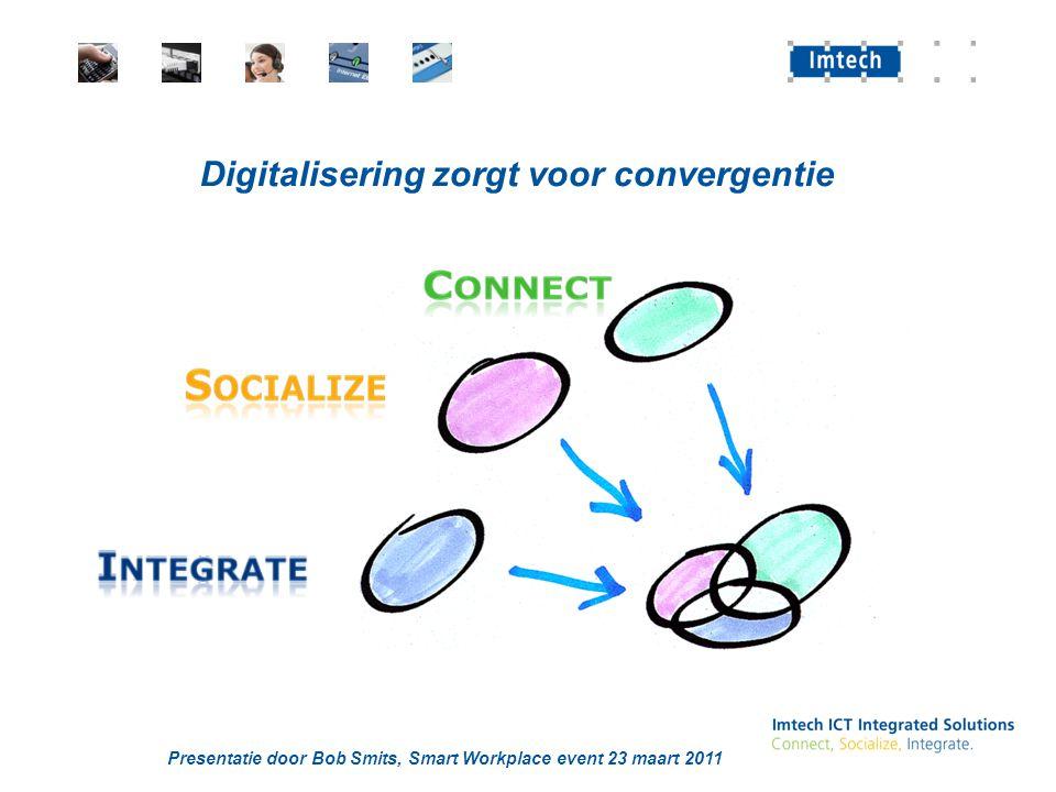 Digitalisering zorgt voor convergentie