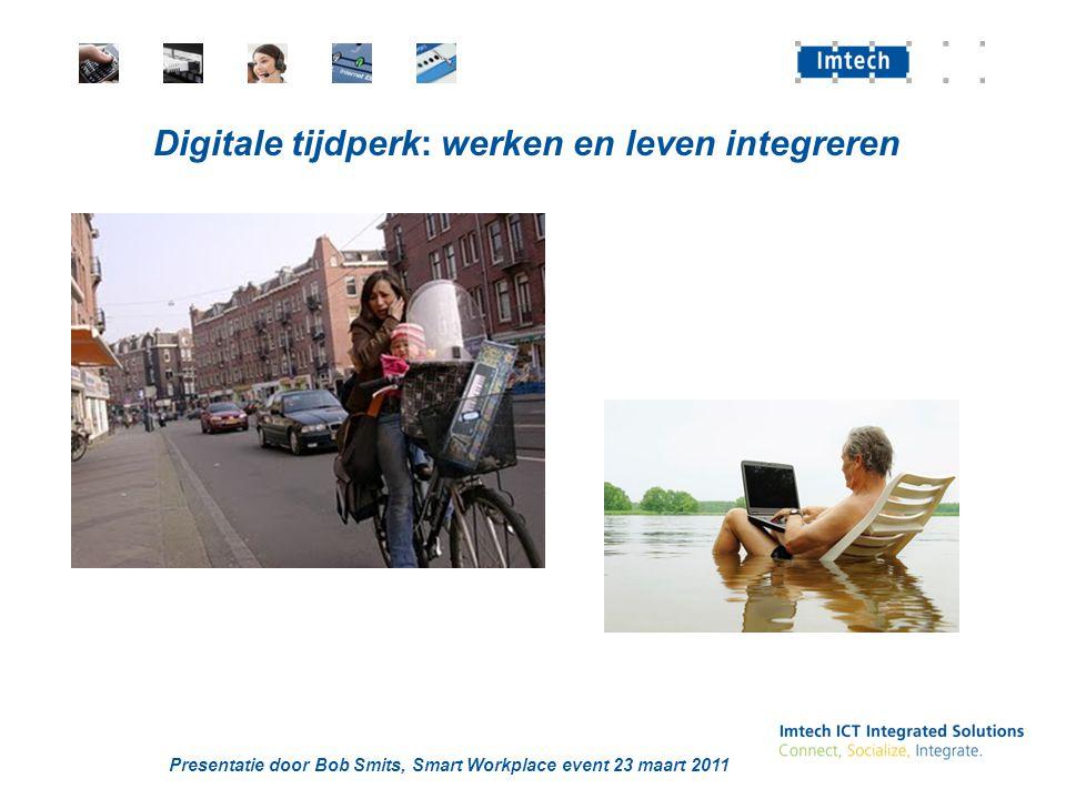 Digitale tijdperk: werken en leven integreren