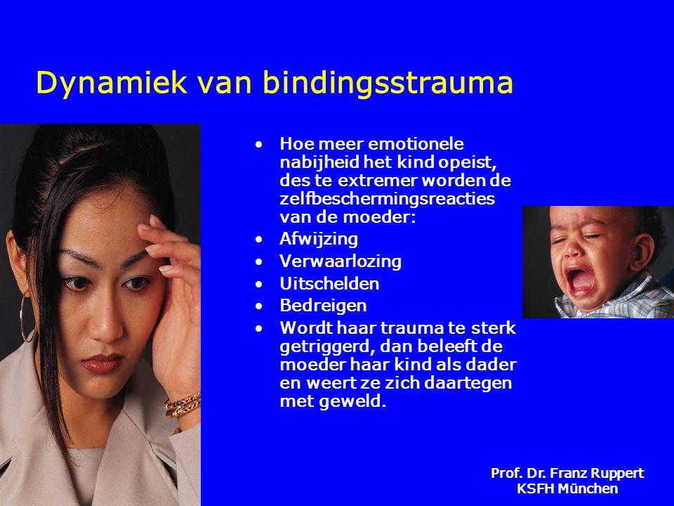 Dynamiek van bindingsstrauma