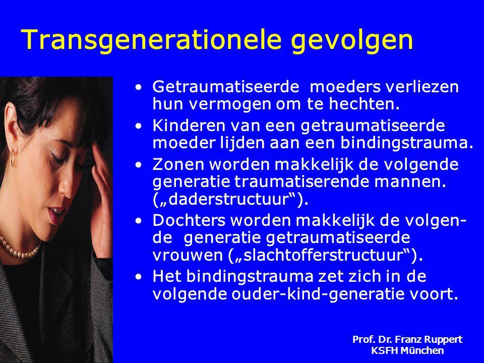 Transgenerationele gevolgen