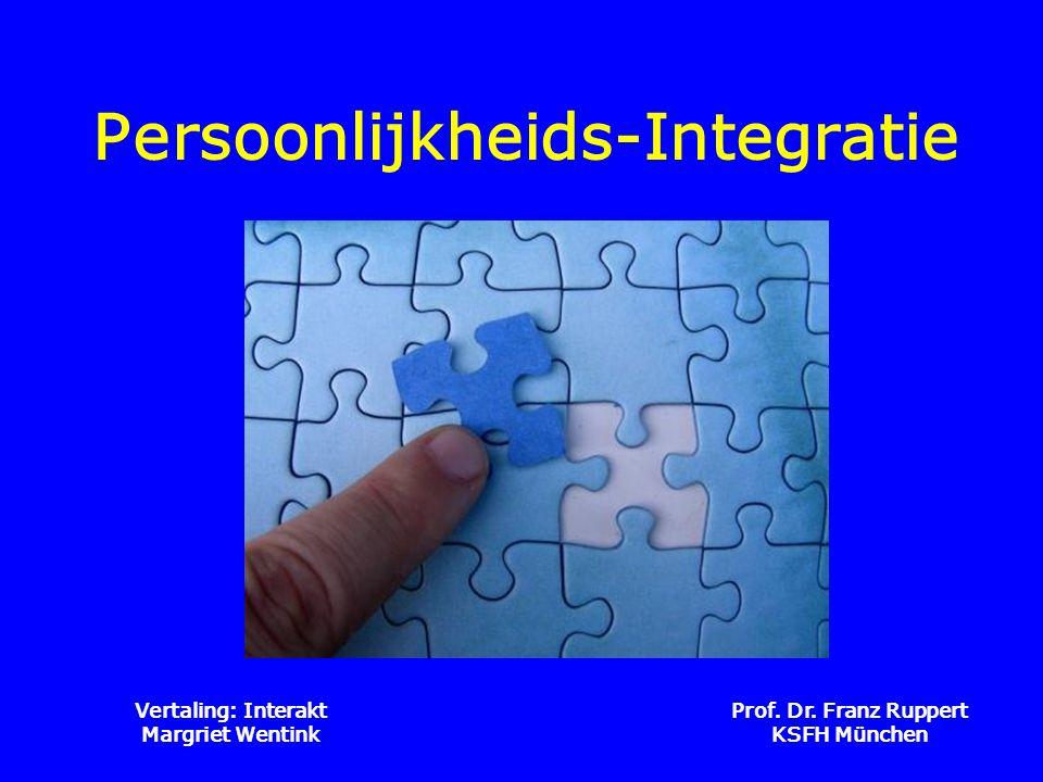 Persoonlijkheids-Integratie